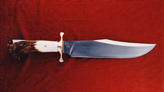 "B8-11 Blade 3/8"" X 2"" x 11"" long, Crown handle, Guard 3 1/2"""