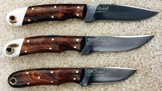 W1, W2 and W2 Model Knives